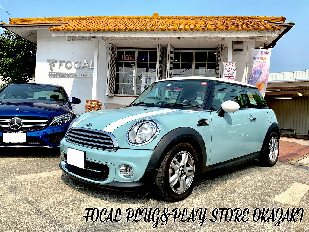 MINI R56♪ スピーカー交換♪ FOCAL PLUG&PLAY STORE 岡崎♪